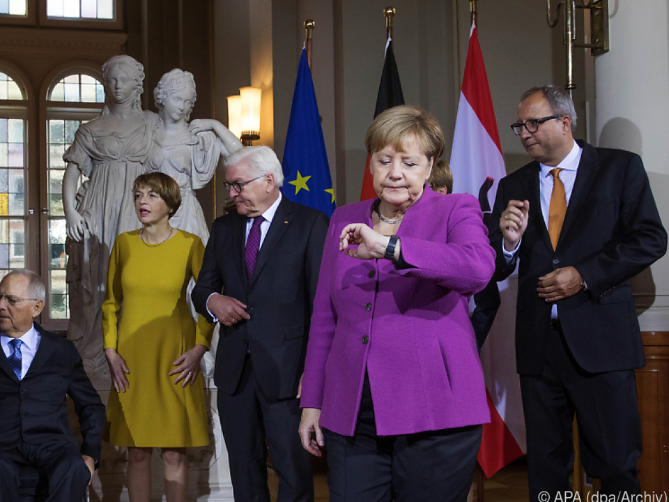 Merkel ist auf ihren potenziellen Nachfolger gespannt
