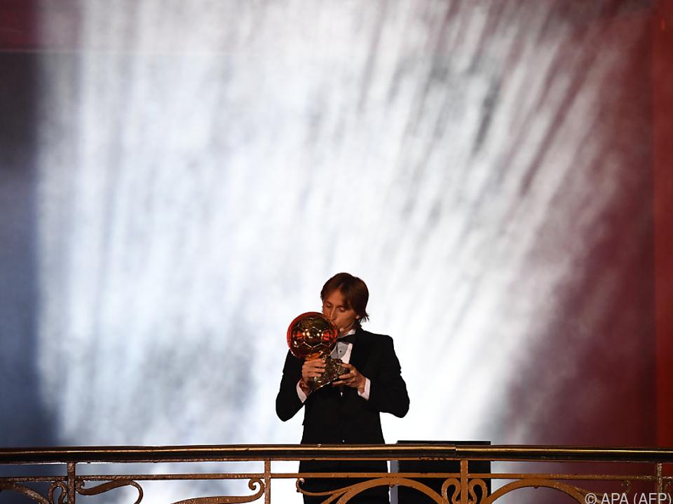 Modric beendete Messi/Ronaldo-Ära