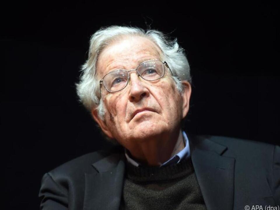 Noam Chomsky ist auch noch im hohen Alter aktiv