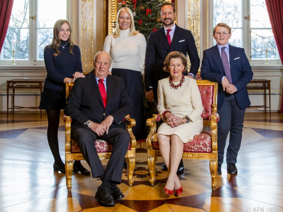 Norwegische Royals recht bodenständig