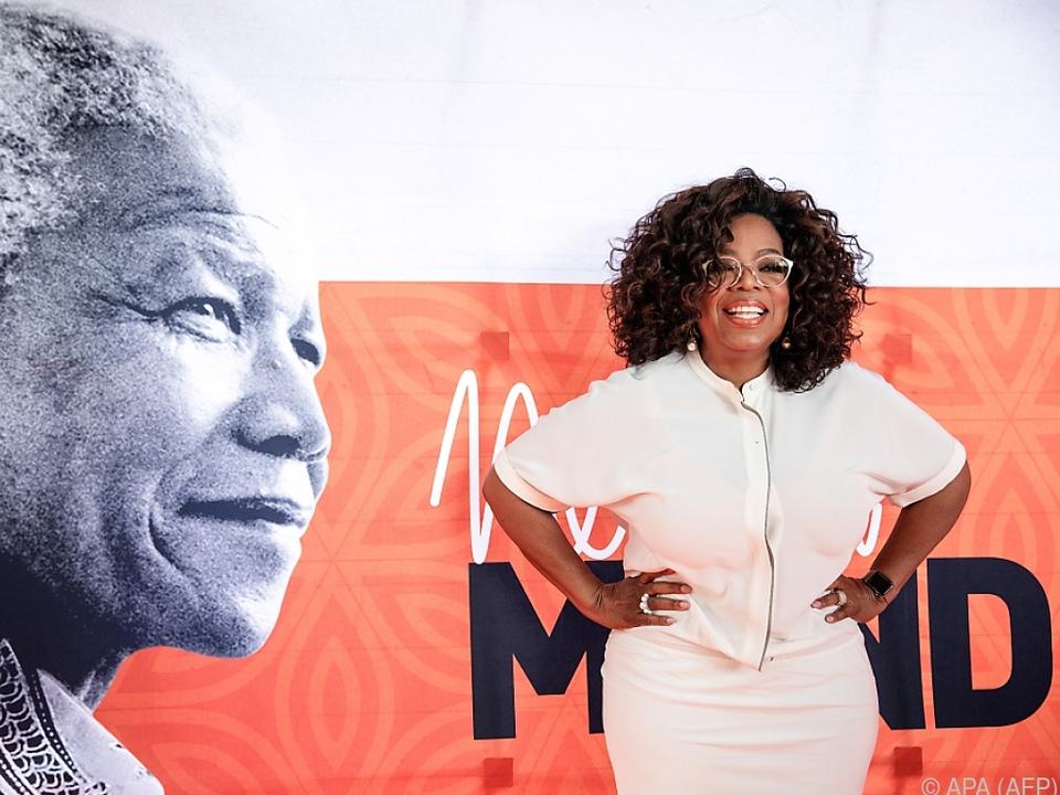 Oprah Winfrey war eine der Gastgeberinnen