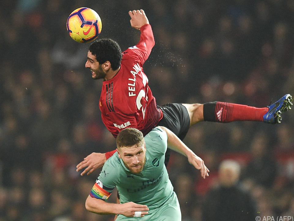Punkteteilung zwischen Manchester United und Arsenal London
