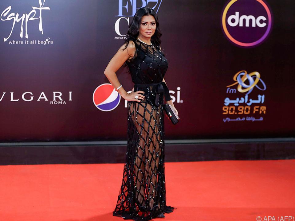 Rania Jussefs ransparentes Kleid verärgerte die Sittenwächter
