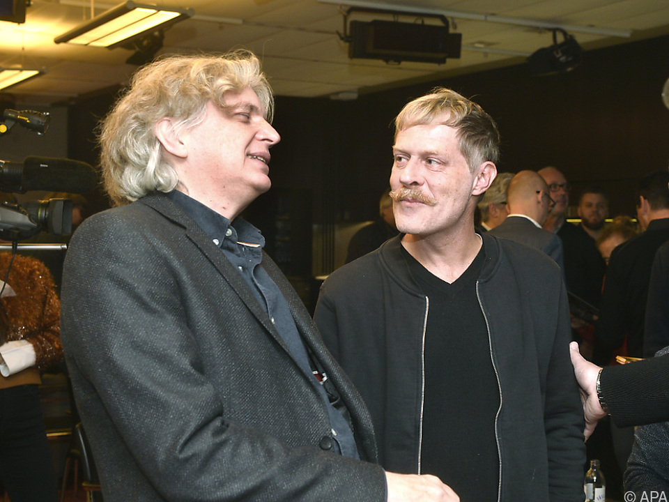 Regisseur Wolfgang Murnberger und Schauspieler Andreas Lust