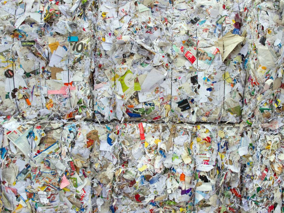 Rund 645.000 Tonnen Altpapier wurden gesammelt
