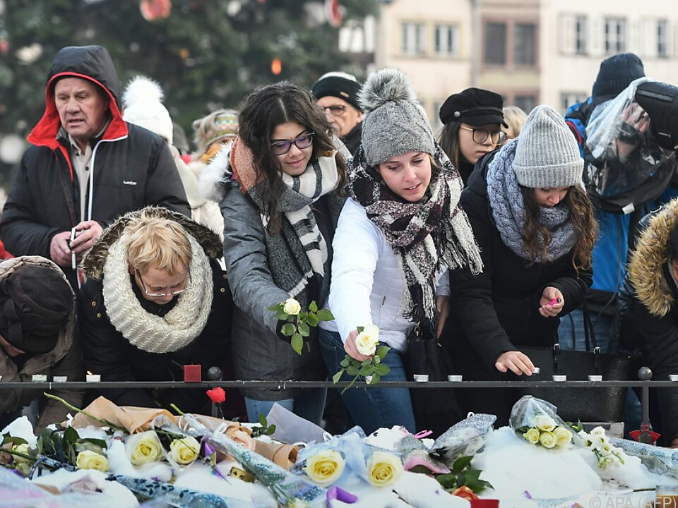 Rund tausend Menschen gedachten der Opfer des Anschlags