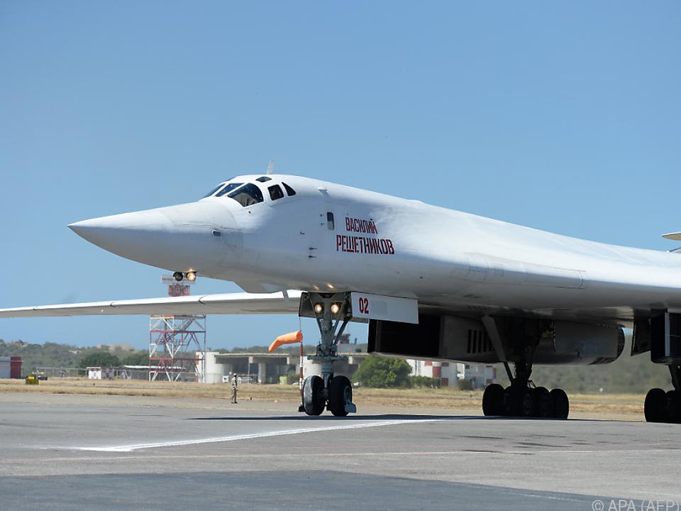 Russische Tupolev in Venezuela