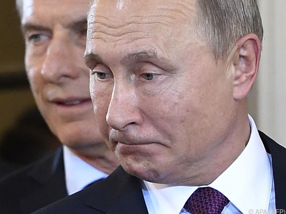 Russlands Präsident Putin in Buenos Aires