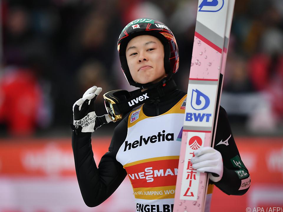 Ryoyu Kobayashi gewann vier der sieben Saisonbewerbe