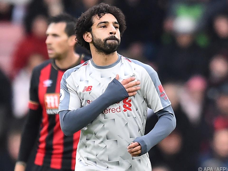 Salah schoss Liverpool mit Hattrick zum Sieg