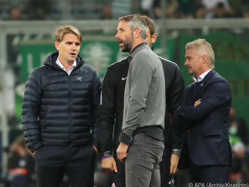 Salzburgs Sportchef Freund sieht \