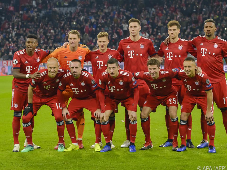 Schweres Los für den deutschen Rekordmeister Bayern