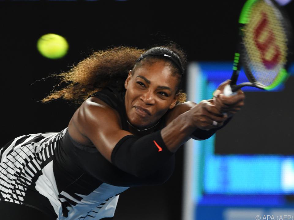 Serena Williams gewann 2017 in Melbourne