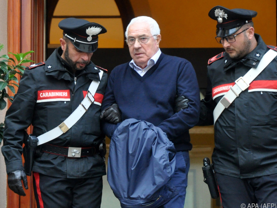 Settimino Mineo wurde in der Provinz Palermo gefasst