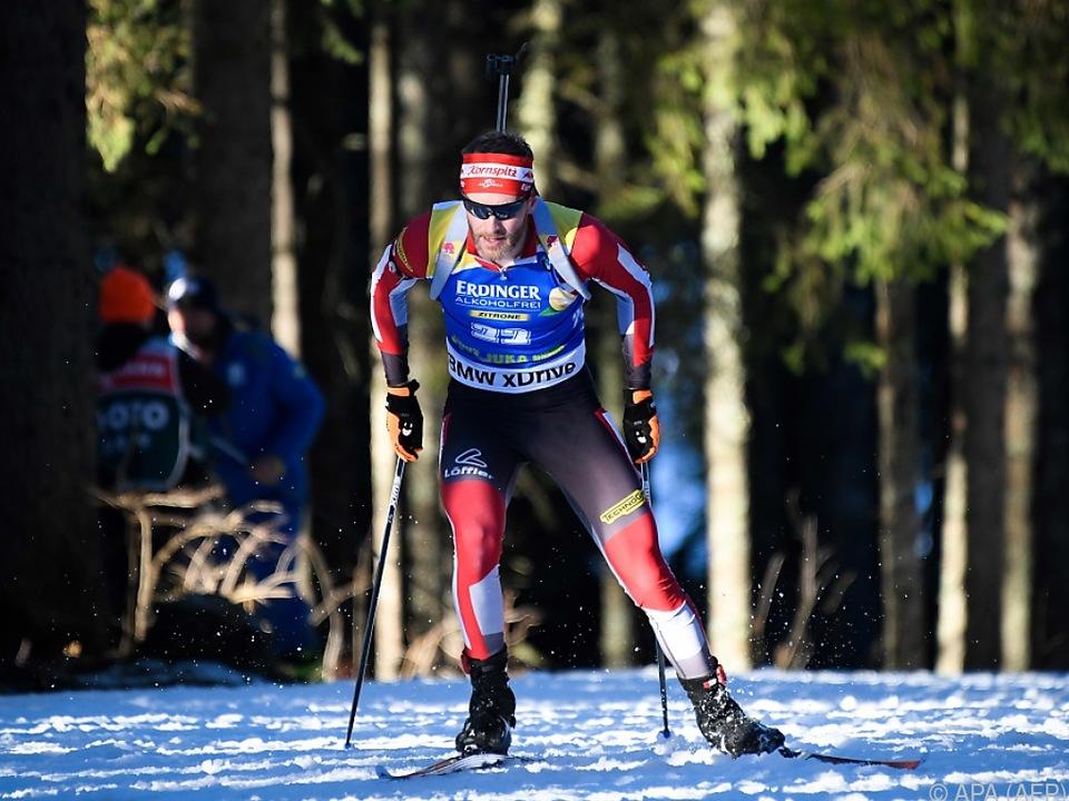 Simon Eder landete auf dem vierten Rang