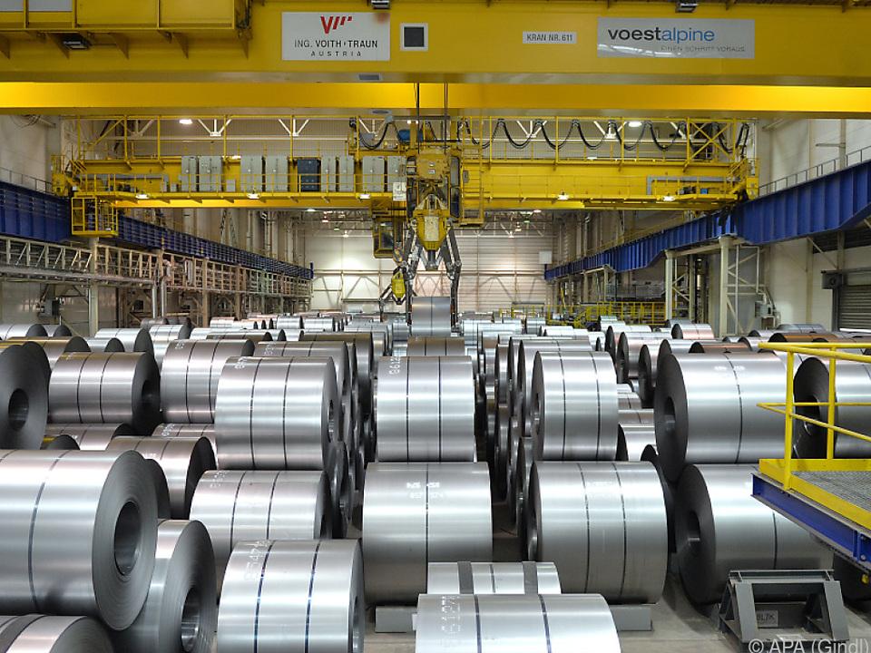 Stahlerzeugung bei der voestalpine