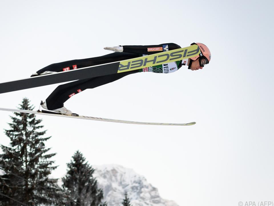 Stefan Kraft als einziger ÖSV-Adler im Finale