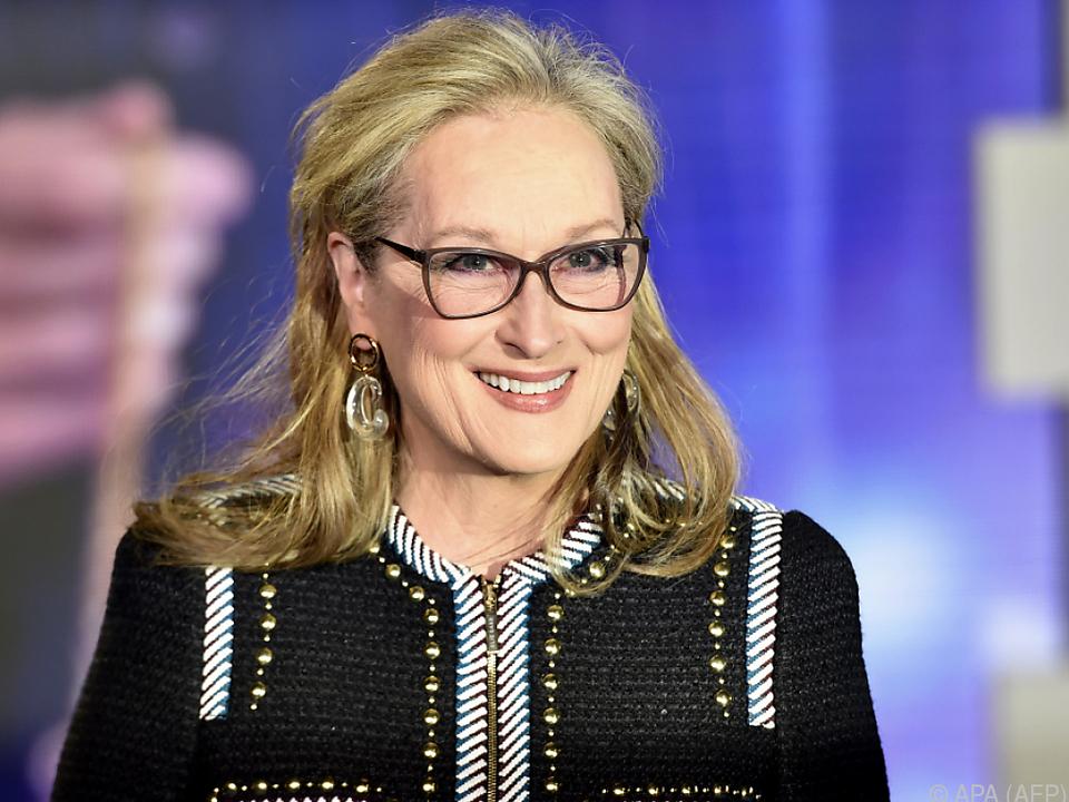 Für Meryl Streep sind fröhliche Filme wichtig