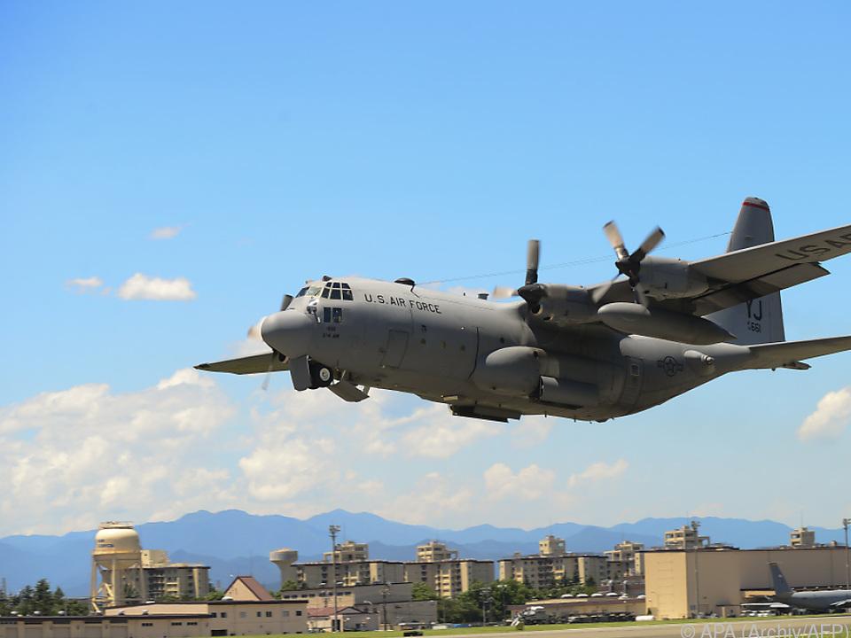 Tankflugzeug vom Typ KC-130 Hercules