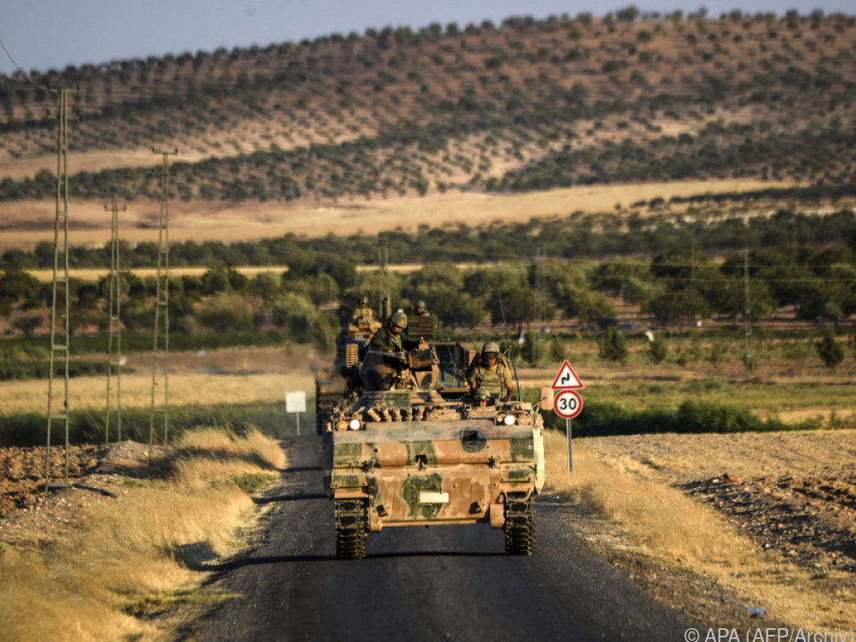 Teile des Konvois passierten den Grenzübergang Karkamis