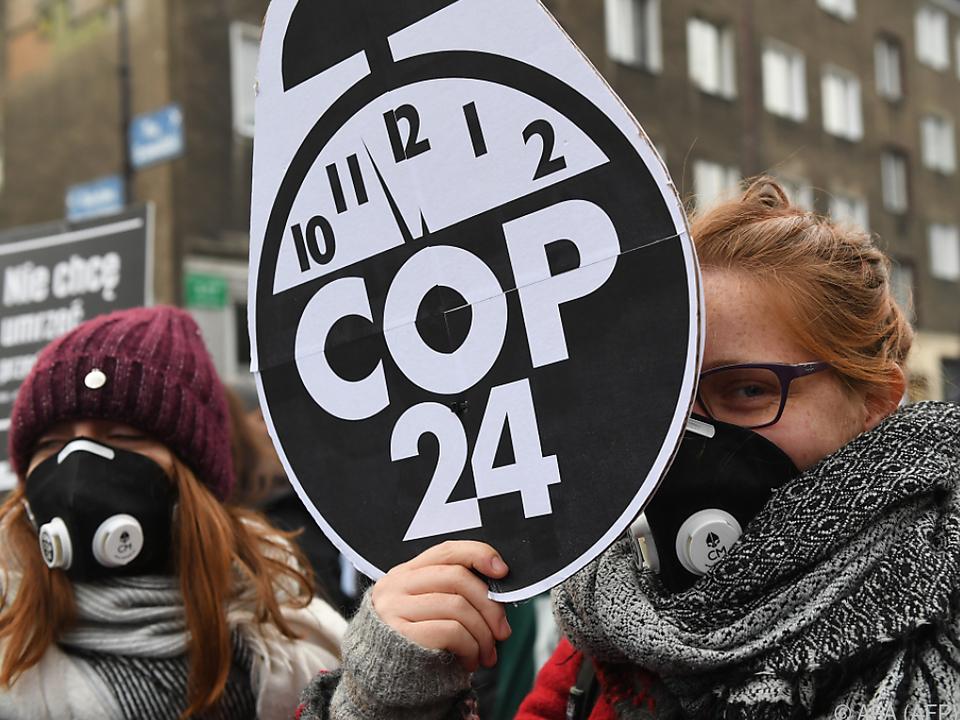 Umweltorganisationen bisher enttäuscht