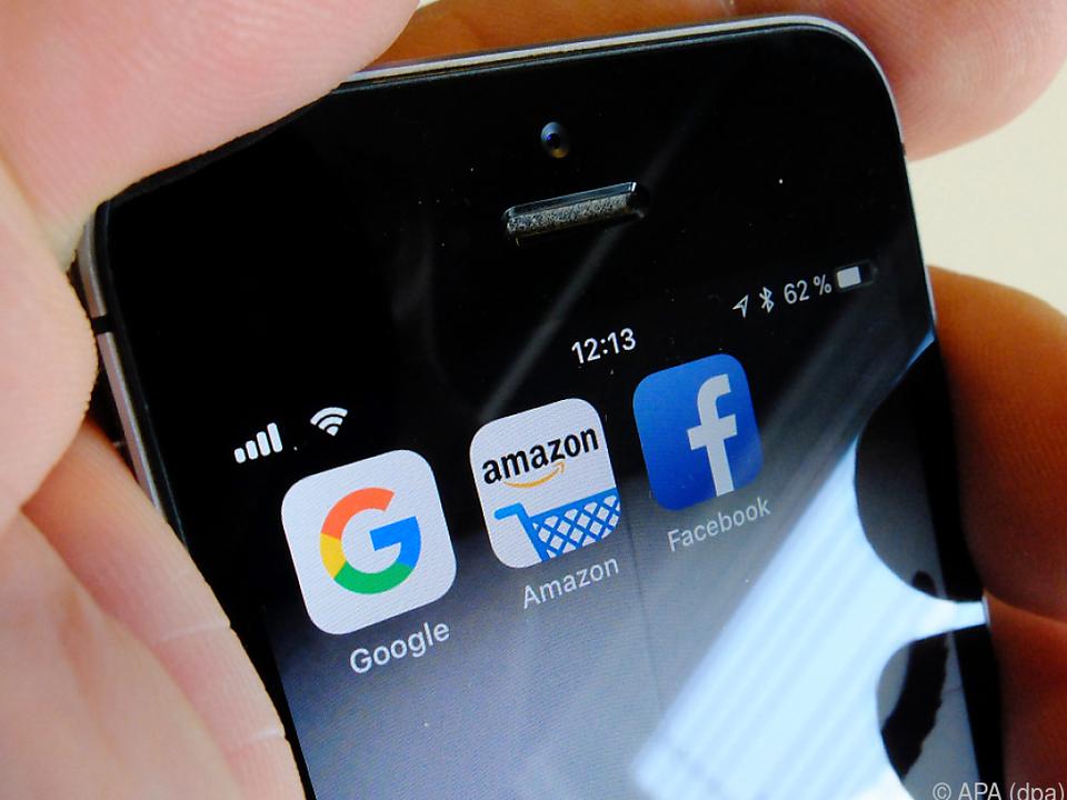 US-Internetkonzerne wären von Digitalsteuer besonders betroffen