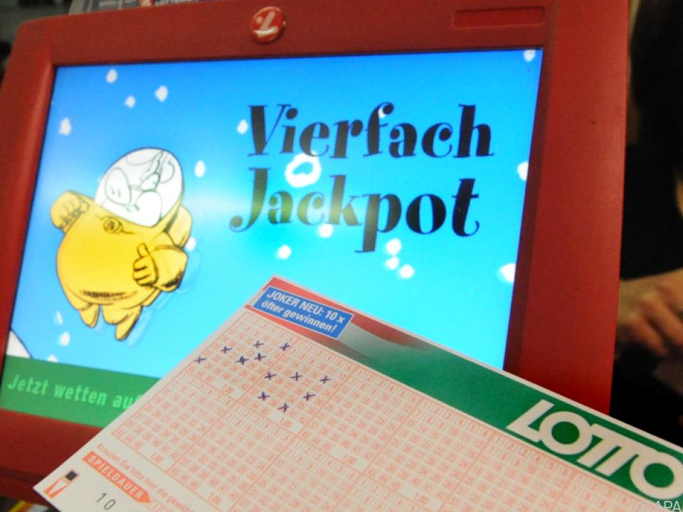 Vierfachjackpot bringt rund 5,8 Mio. Euro \