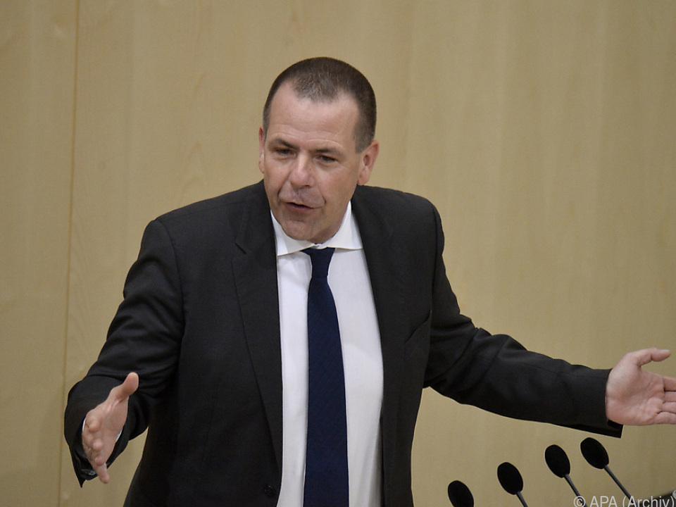 Vilimsky weist die Aufforderung von Avramopoulos zurück