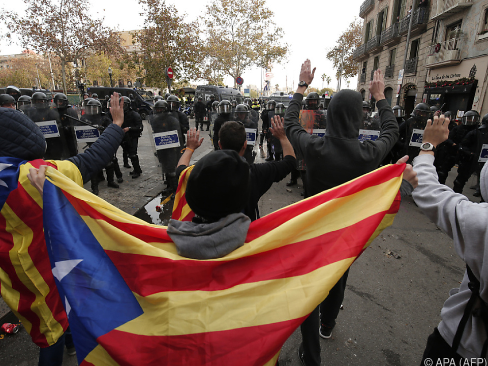 Widerstand gegen die spanische Regierung