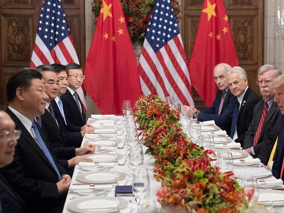Xi Jinping lenkte im Handelsstreit ein