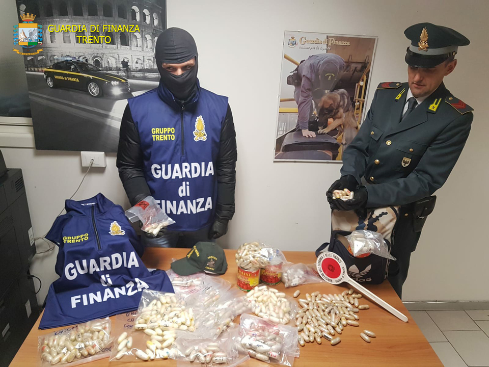 Finanzpolizei Trient Drogen