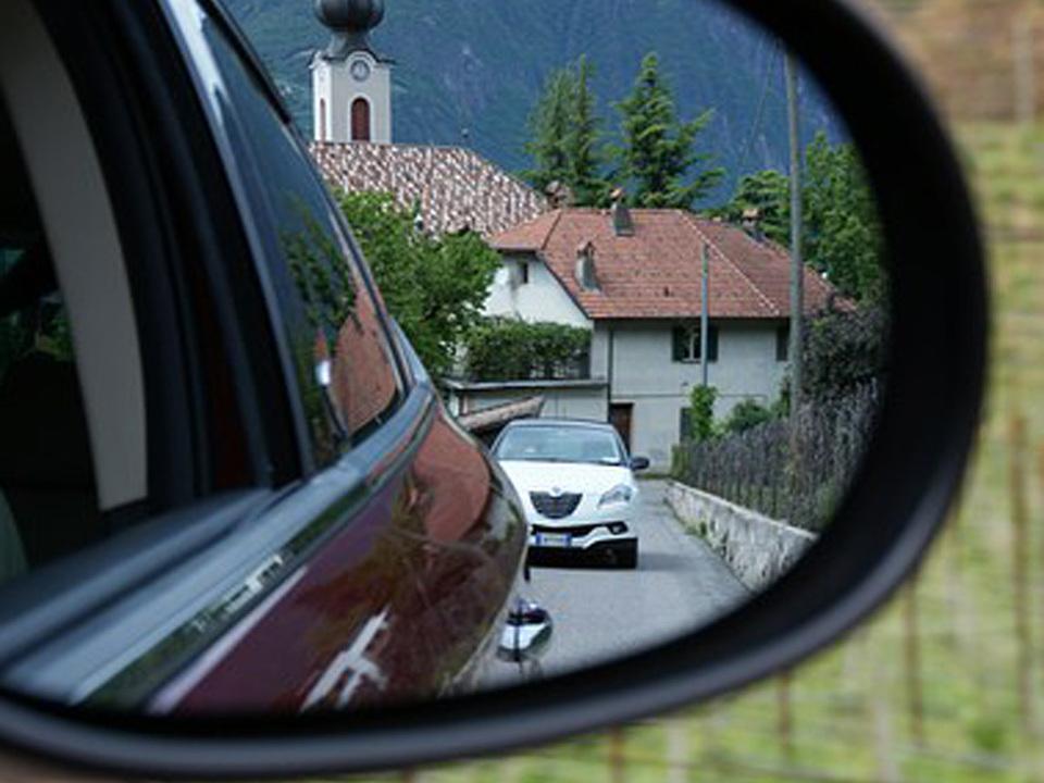 Auto Seitenspiegel Pendler pendeln Fahrkostenbeitrag