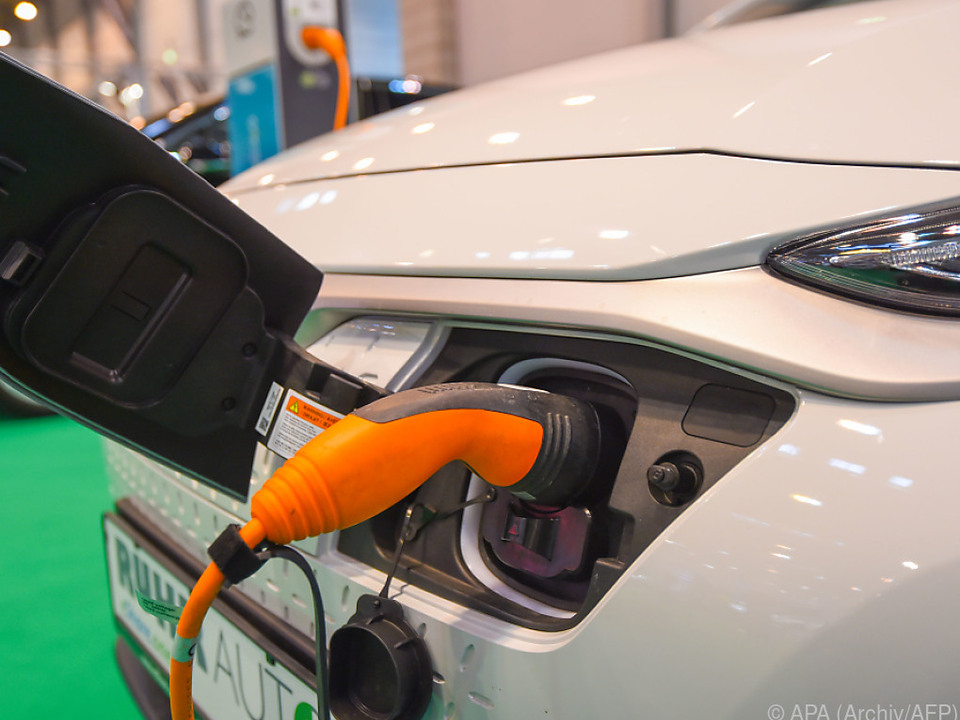 2,4 Prozent aller Neuzulassungen sind E-Autos