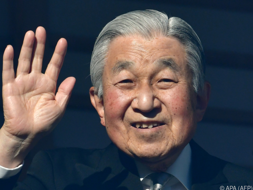 Akihito dankt ab