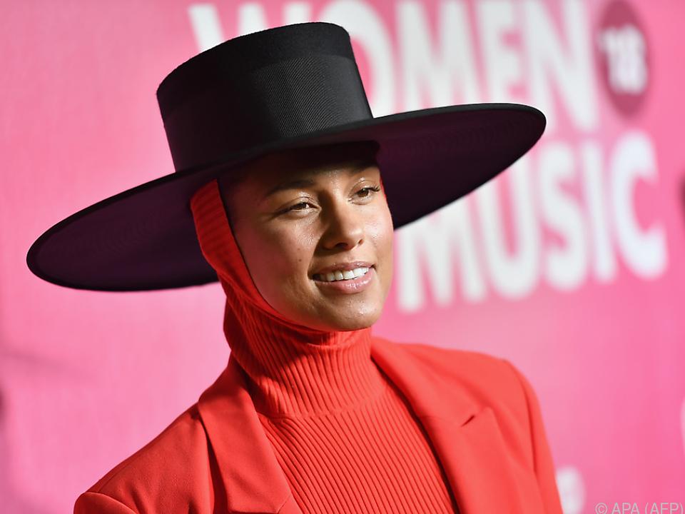 Alicia Keys hat bereits 15 Grammys gewonnen