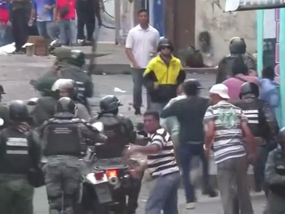 Angespannte Lage in Venezuela