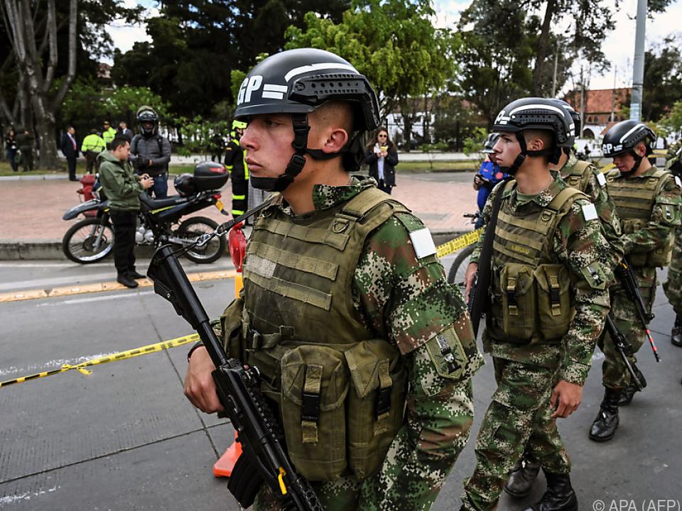 Auf dem Gelände einer Polizeischule detonierte eine Autobombe