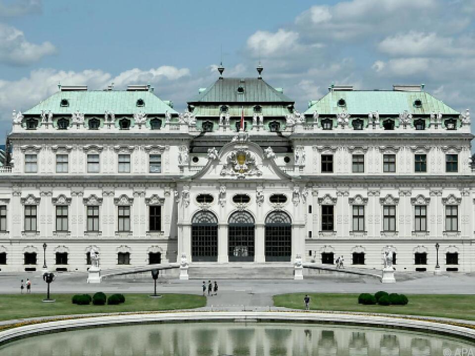 Ausstellung im Belvedere ab Freitag geöffnet