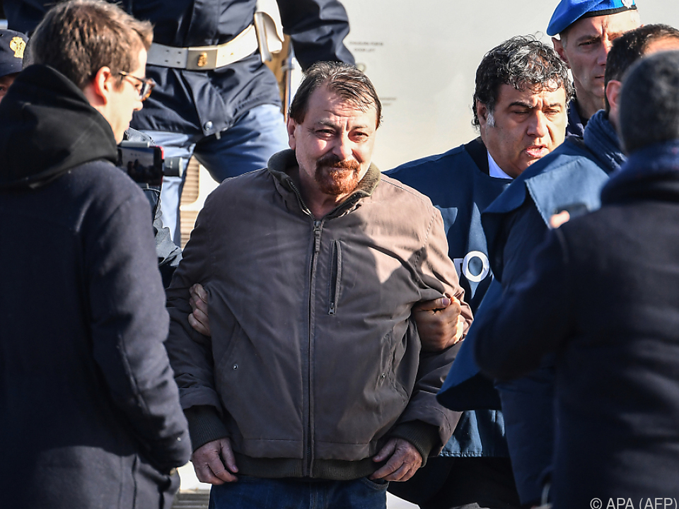 Battisti (m.) wurde in Bolivien verhaftet
