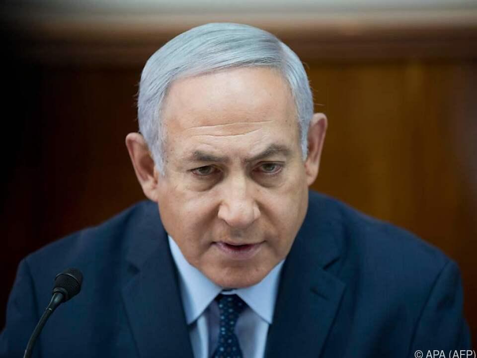 Benjamin Netanyahu warnt vor \