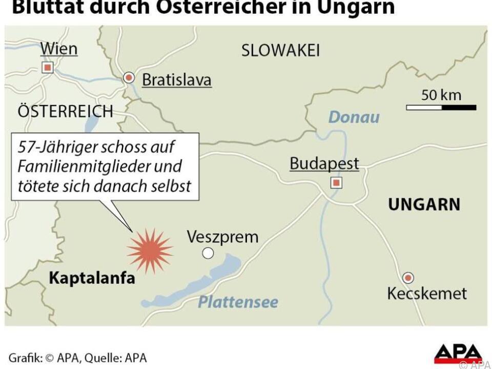 Bluttat durch Österreicher in Ungarn