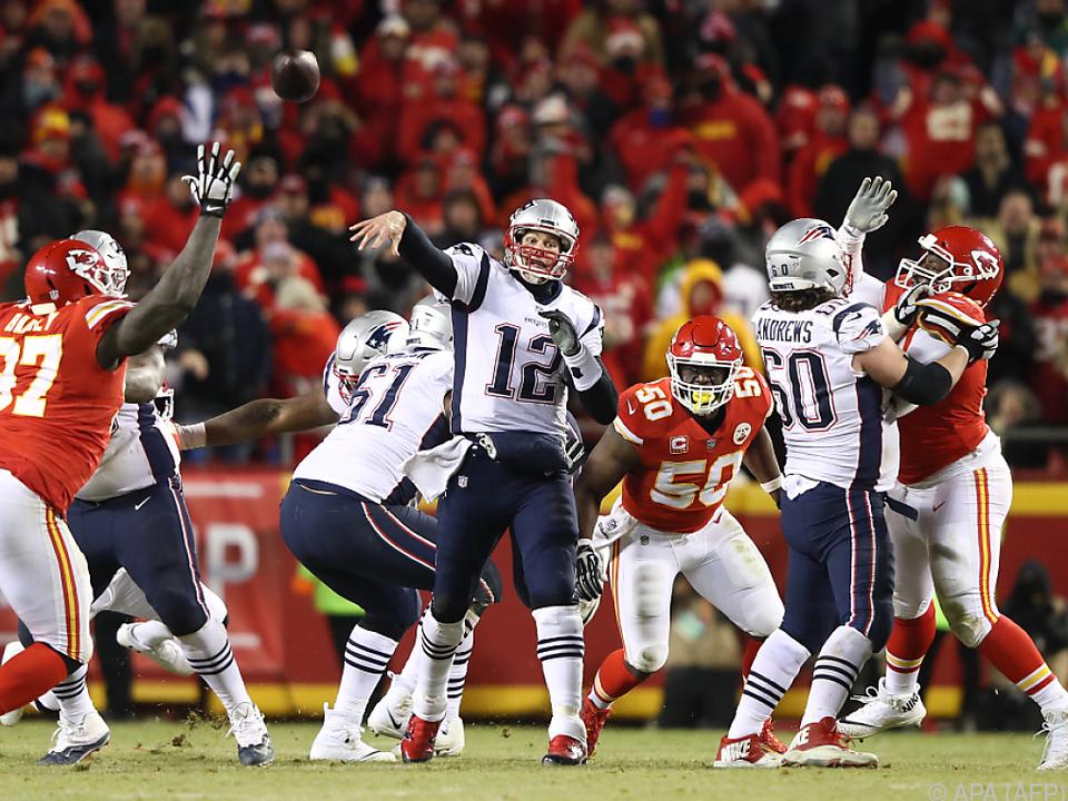 Brady führte sein Team gekonnt ins Endspiel