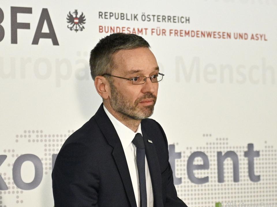 Brief von Kickl an EU-Migrationskommissar