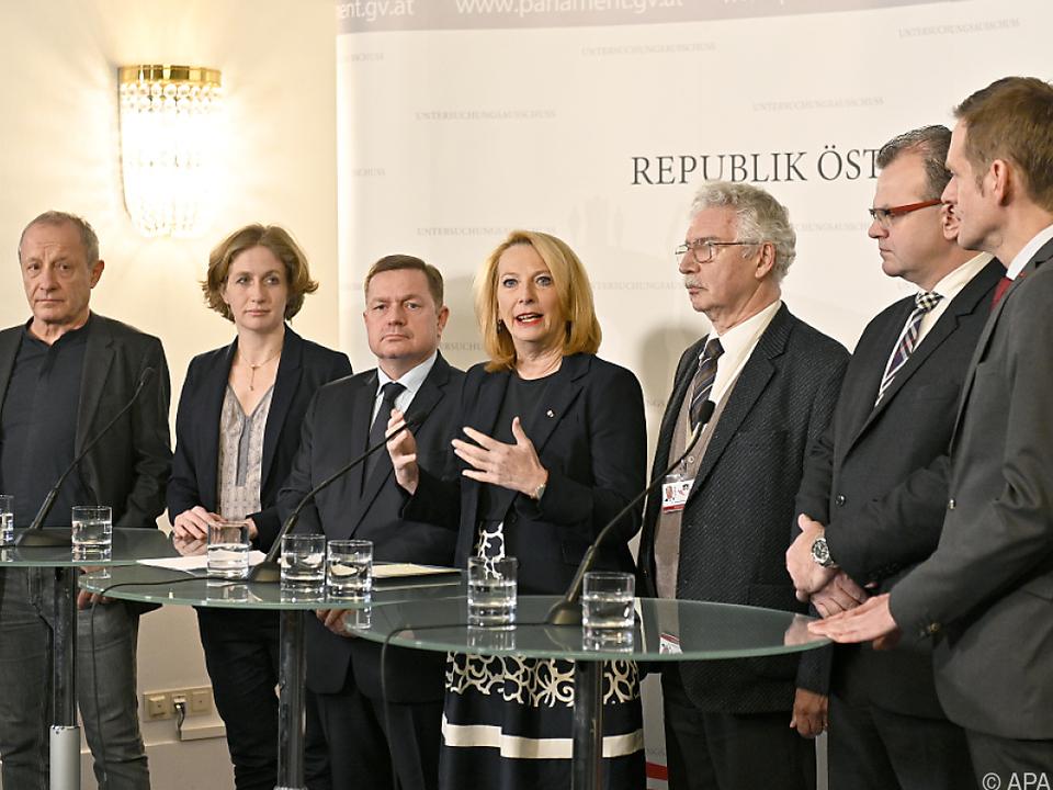 Bures und Fraktionsvorsitzende zeigten sich mit der Arbeit zufrieden