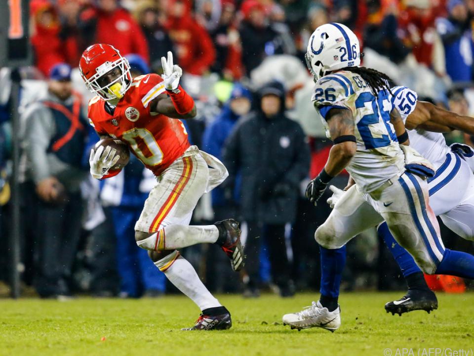 Chiefs mit starkem Auftritt gegen die Colts