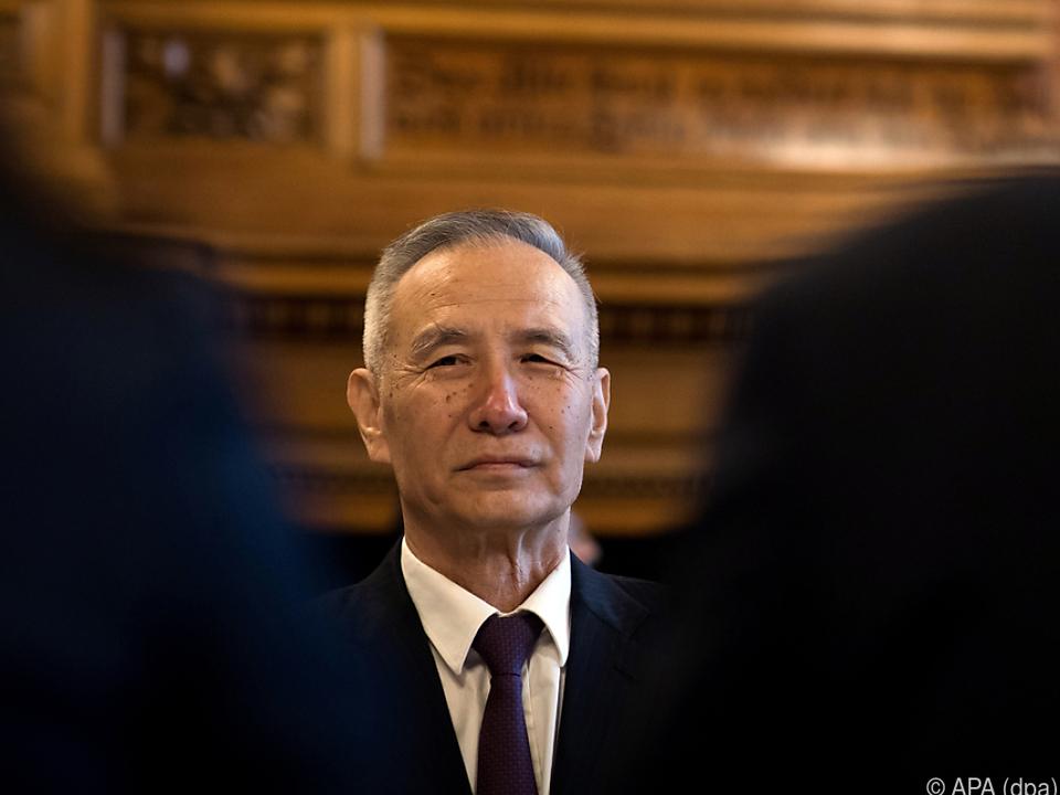 Chinas Vizepremier Liu He sucht das Gespräch mit Washington