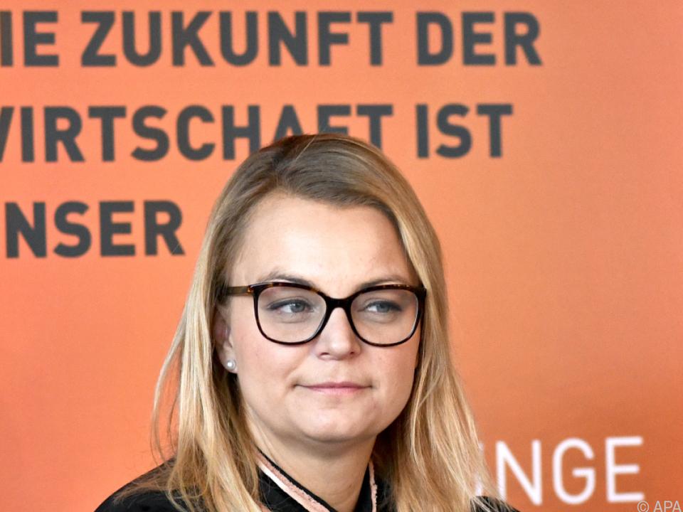 Christiane Holzinger, neue Bundesvorsitzende der Jungen Wirtschaft