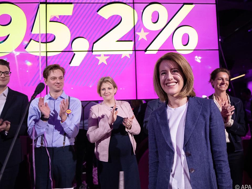 Claudia Gamon erhielt 95,2 Prozent der Stimmen