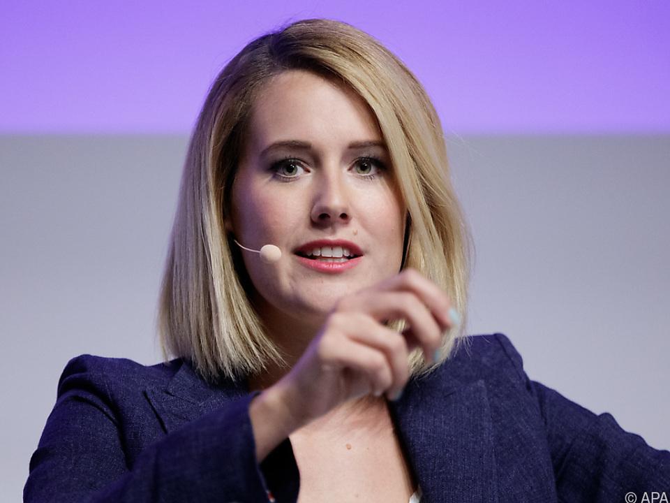 Claudia Gamon, voraussichtliche Spitzenkandidatin der NEOS für die EU-Wahl
