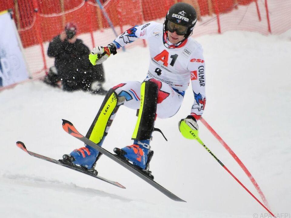 Clement Noel holte sich den Slalom-Sieg in Kitzbühel